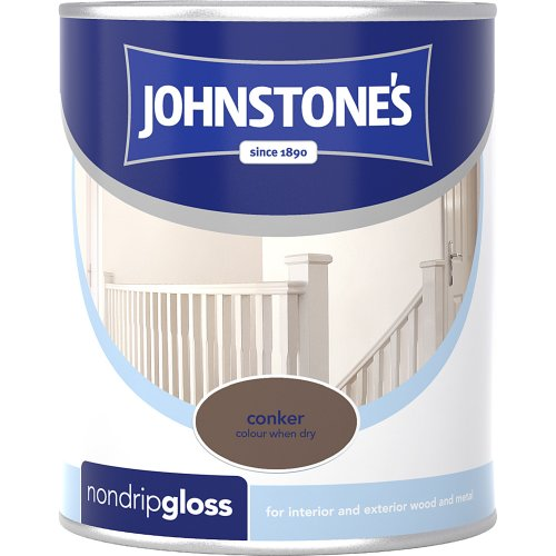 johnstones-no-ordinary-paint-one-coat-non-drip-oil-based-gloss-conker-750ml