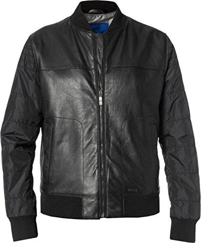 Preisvergleich Produktbild Joop! Herren Lederjacke Alltagsjacke Uni & Uninah,  Größe: XL,  Farbe: Schwarz