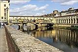 Poster 90 x 60 cm: Ponte Vecchio, Florenz, Italien von