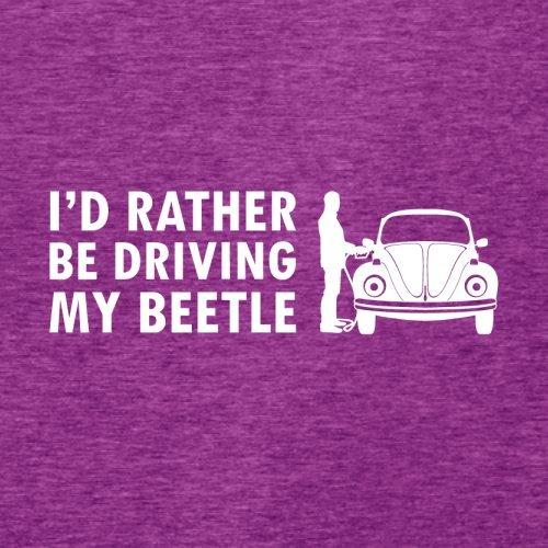 Ich würde lieber meinen Beetle fahren - Damen T-Shirt - 14 Farben Beere