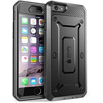 Coque iPhone 6 - SUPCASE Apple iPhone 6 4.7 Unicorn Beetle Serie PRO modèle hybride avec