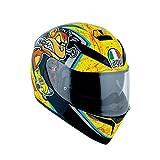 AGV 0301A2EY_036_L K-3 SV E2205 Helm MULTI PLK, Gelb, Größe L