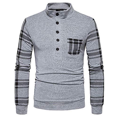 37c16f89f Men Long Sleeve Tops HEHEM Men's Autumn Winter Sweater Pullover Loose  Jumper Knitwear Outwear Blouse Tops