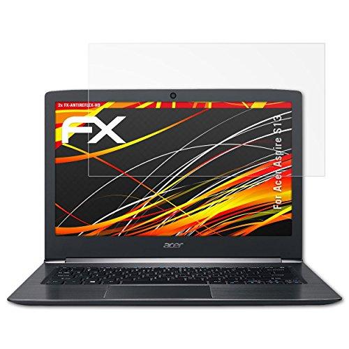 atFolix Schutzfolie kompatibel mit Acer Aspire S13 Bildschirmschutzfolie, HD-Entspiegelung FX Folie (2X)