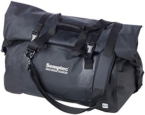 Semptec Urban Survival Technology Tasche wasserdicht: wasserdichte Profi-Outdoor- und Reisetasche aus LKW-Plane, 60 Liter (Schultertasche)
