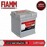 Auto Batterie Fiamm 44Ah 390A POSITIVE A rechts (+ DX) Cod. L044+–7903739