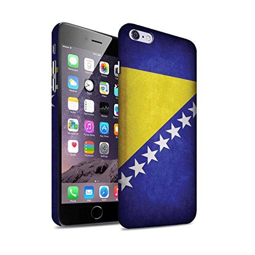 Clipser Matte Coque de Stuff4 / Coque pour Apple iPhone 5/5S / Chili/Chiliean Design / Drapeau Collection Bosnie-Herzégovine