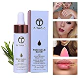 OYOTRIC 24k Rose Or Elixir Face Lip Fondation Liquide Huiles Hydratantes Huile Essentielle