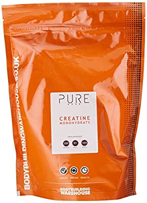 Bodybuilding Warehouse Pure Creatine Monohydrate Powder from Bodybuilding Warehouse