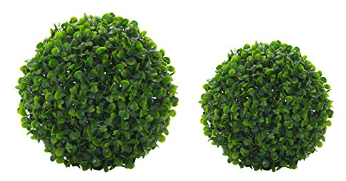 DARO DEKO Kunst-Pflanze Buchs-Baum Kugel