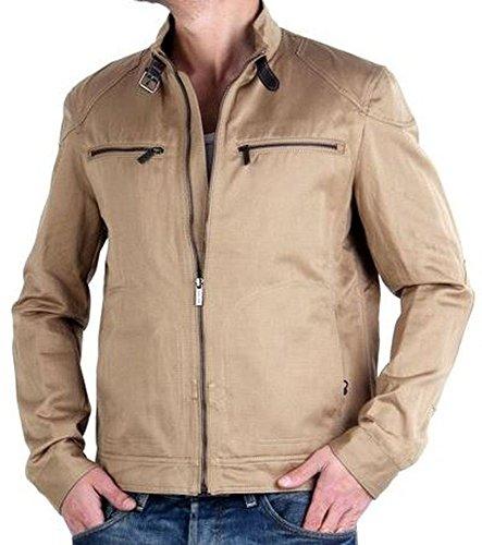 "MASSIMO DUTTI giacca da uomo""sabbia 3406-XL"