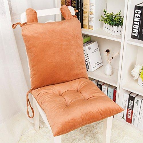 Ordinateur chaise coussin hiver ménage rehausseur adulte bureau chaise coussin du dossier-B 80x40cm(31x16inch)
