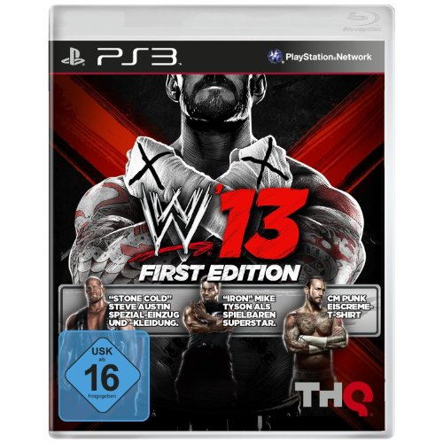 WWE 13 - First Edition (Ps3-wwe-wrestling-spiele)