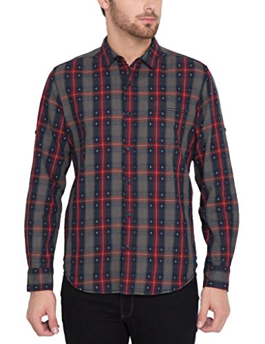Locomotive Casual Dark Blue Shirt