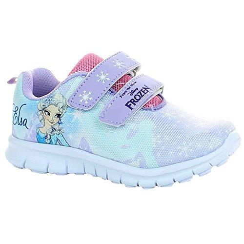 Frozen Die Eiskönigin Anna ELSA Sneaker Schuhe Sportschuh Klettverschluss (31)