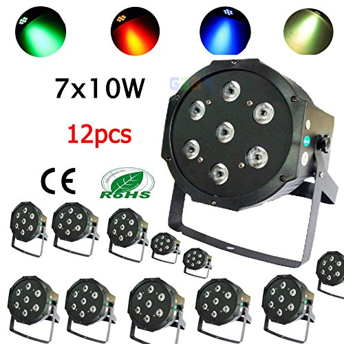 gbar-12pcs-7x10w-dmx-512-rgbw-4in1-led-par-light-par64-can-flat-70w-tri-led-fedex-shipping