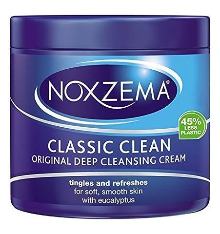 Noxzema Classic Clean Original Deep Cleansing Cream 12oz Jar (2 Pack) by Noxzema