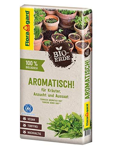 Floragard Bio-Erde Aromatisch 1x40 Liter