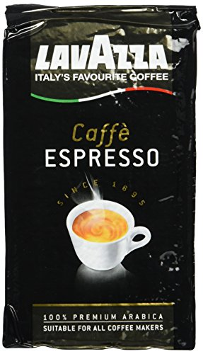 Lavazza Caffe Espresso 100% Arabica, 5er Pack (5 x 250 g Packung)