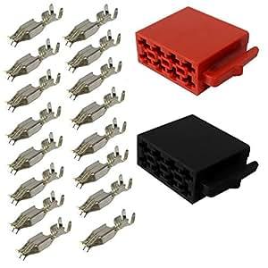 aerzetix stecker iso 16 pin universal elektronik. Black Bedroom Furniture Sets. Home Design Ideas