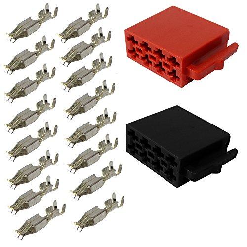 Aerzetix: Stecker ISO 16 PIN Universal (Pod Pin)