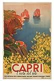 Unbekannt Poster, Motiv: Capri von Giusepe Riccobaldi