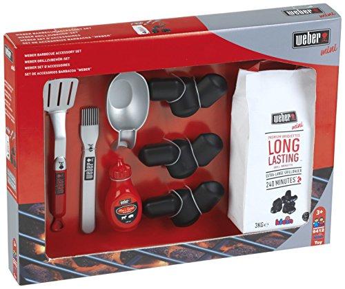 Preisvergleich Produktbild Theo Klein 9412 - Weber Grillzubehör Set, Spielzeug