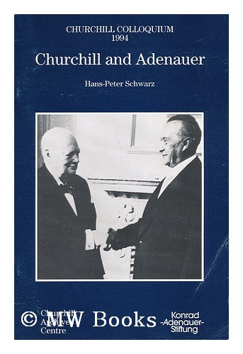Churchill and Adenauer (Churchill Colloquium)