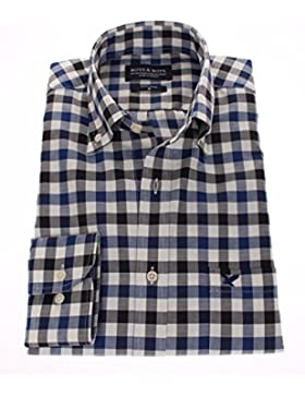 178638 - Bots & Bots - Camicia Uomo - Exclusive Collection - 100% Cotone - Button Down - Normal Fit