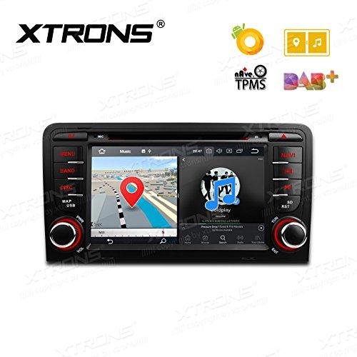 Xtrons Android 17,8cm 8.0Octa Core 4G RAM 32G ROM stéréo de voiture numérique HD écran multi-touch lecteur de DVD DVR de surveillance de pression de pneu Wifi OBD2pour Audi A3S3