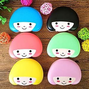 Kontaktlinsenbox für Mädchen, 1 Stück, zufällige Auswahl