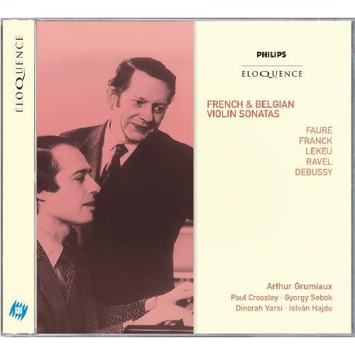 Debussy: Sonata in G Minor for Violin & Piano, L. 140 - 1. Allegro vivo