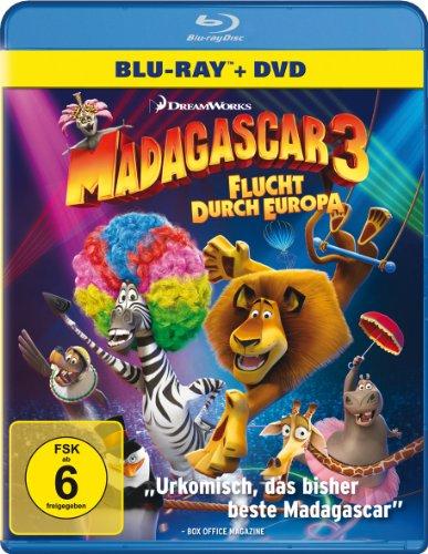 Madagascar 3 - Flucht durch Europa (+ DVD) [Blu-ray]