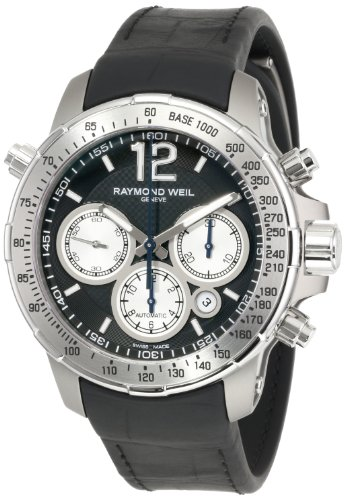 raymond-weil-mens-rubber-band-titanium-case-quartz-black-dial-chronograph-watch-tir-05207