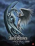 Anne Stokes Mystic World - Posterkalender - Kalender 2018 - Heye-Verlag - Wandkalender - 34 cm x 44 cm