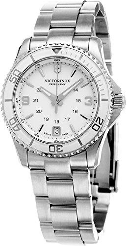 Victorinox Damen-Armbanduhr Maverick Analog Quarz Edelstahl 241699