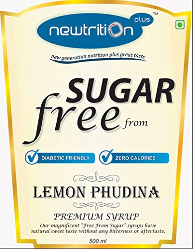 Newtrition Plus Lemon Phudina - Sugar Free Syrups 500 ml