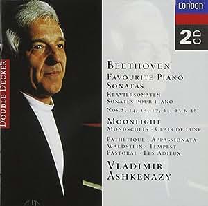 Beethoven: Favourite Piano Sonatas (8, 14, 15, 17, 21, 23 & 26)