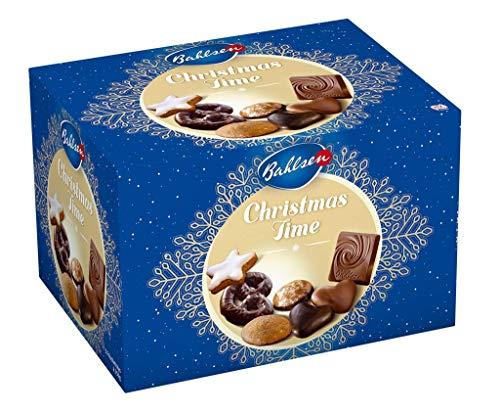 Preisvergleich Produktbild Bahlsen Christmas Time - Gebäckmischung zu Weihnachten - mit verschiedenen Lebkuchen,  aromatischer Vollmilchschokolade und leckeren Zimtsternen,  1er Pack (1 x 1.25 kg)