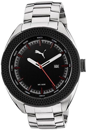 Puma da uomo Octane 3HD orologio al quarzo con display analogico nero e...
