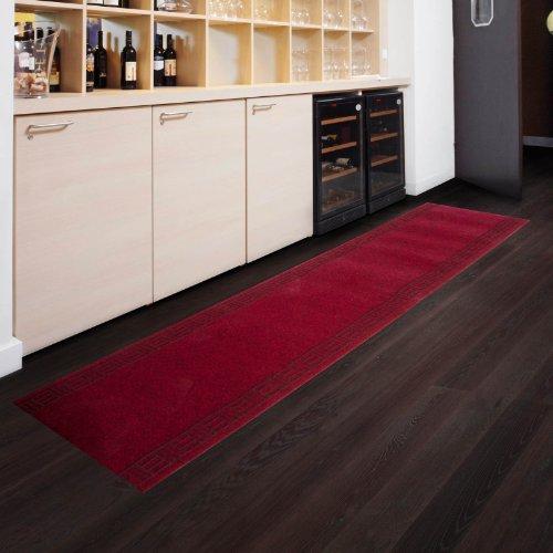 Floori Küchenläufer - 9 Größen wählbar - 66x180cm, rot