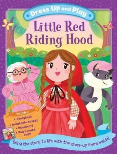 Dress Up and Play: Little Red Riding Hood (Play Book Dress-Up) (Hood Riding Red Dress Up)