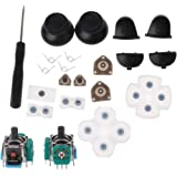 siwetg Touches de déclenchement 3D L1 R1 L2 R2, joystick analogique, pièces en caoutchouc conducteur, appuie-pouces, pièces d