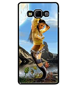 ColourCraft Beautiful Mermaid Design Back Case Cover for SAMSUNG GALAXY A7