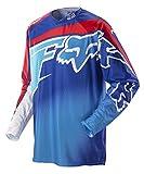 FOX 360 Flight Jersey, Farbe blau-rot, Größe M