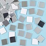 Baker Ross Tessere mosaico a specchio autoadesive per bambini (confezione da 100)