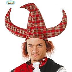 Sombrero Vikingo Escocés con pelo