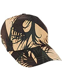 Krystle Men's Cotton Army Baseball Snapback Cap