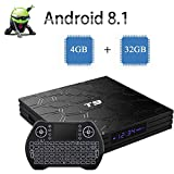 2018 Newest Android TV Box , Android 8.1 Quad-Core 64 Bits Google Internet