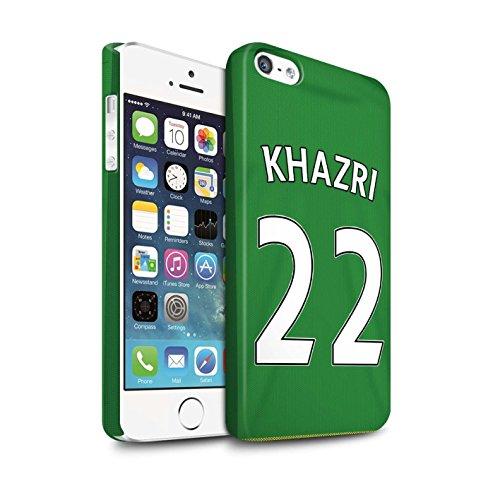 Officiel Sunderland AFC Coque / Clipser Matte Etui pour Apple iPhone 5/5S / Pack 24pcs Design / SAFC Maillot Extérieur 15/16 Collection Khazri